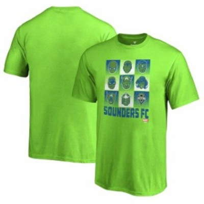 Fanatics Branded ファナティクス ブランド スポーツ用品  Seattle Sounders FC Fanatics Branded Youth Marvel Hall of Heroes T-Shirt