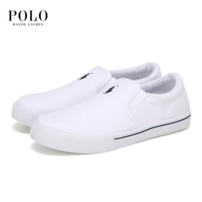 [10%割引中][POLO]ポロシャツレディースホワイトスリップオンシューズRF102771J【正規品】【AK公式ストア】海外直送