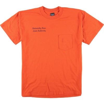 PLATINUM PLUS ポケットTシャツ USA製 メンズXXL /eaa079441