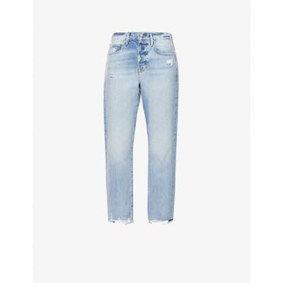 フレーム FRAME レディース ジーンズ・デニム ボトムス・パンツ Le Original straight high-rise jeans Clash
