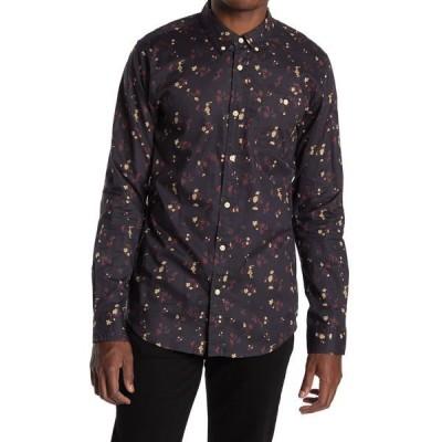 イズキール メンズ シャツ トップス Tahquitz Long Sleeve Woven Shirt NAVY