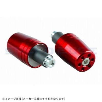[031279-02] POSH(ポッシュ) ウルトラヘビーウェイトバーエンドユニバーサルタイプ(内径14-19mm対応) レッド