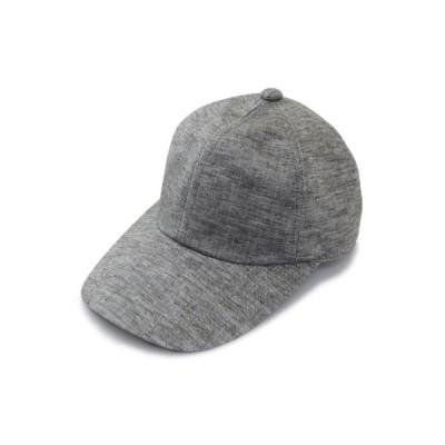 キャップ 20SC30 カーキ メンズ 紳士 帽子 涼しい 麻混 大きいサイズ 紫外線対策 UVケア カジュアル 熱中症対策 シンプル ネット通販 手洗い 日本製 春夏