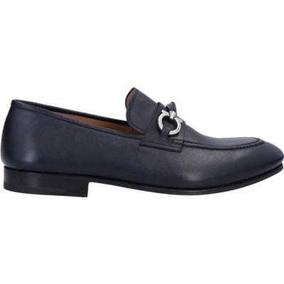 サルヴァトーレ フェラガモ SALVATORE FERRAGAMO メンズ ローファー シューズ・靴 loafers Dark blue