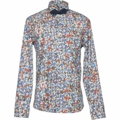 パトリツィア ペペ PATRIZIA PEPE メンズ シャツ トップス patterned shirt Dark brown