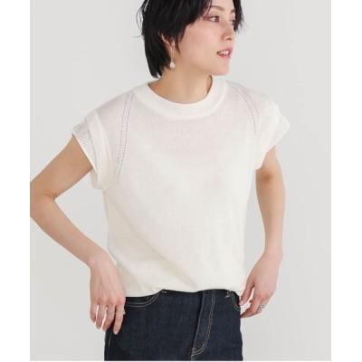 Bou Jeloud / 【速乾】グラデーションシアーニット WOMEN トップス > ニット/セーター