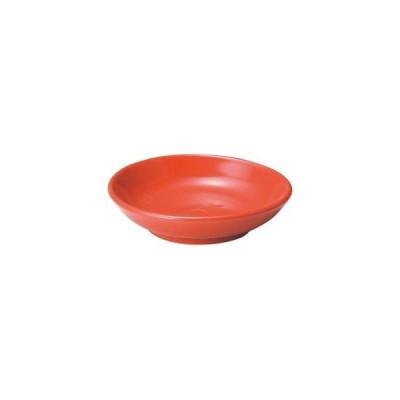 カ655-347 アジアン(黒・赤) 赤10cm深皿