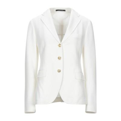 タリアトーレ TAGLIATORE テーラードジャケット ホワイト 46 コットン 100% テーラードジャケット