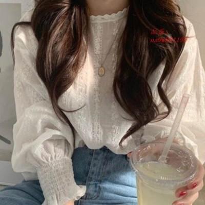 シャツ トップス 大きいサイズ レディース ブラウス 長袖 ゆったり 薄着シャツ UV紫外線対策 20デザイン かわいい 体型カバー フ