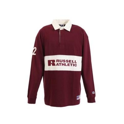 ラッセル(RUSSELL) PR RUGGER 長袖ポロシャツ RBM19F0003 WIN  (メンズ)