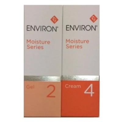 エンビロン ENVIRON モイスチャージェル2&クリーム4セット