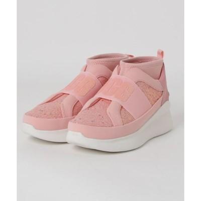 スニーカー UGG Neutra Chunky Glitter Sneaker (Pink Glitter)
