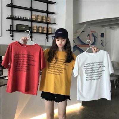 2019 夏3色 新 しいデザイン カジュアル ヒットカラー プリント 半袖 ファッション レジャー Tシャツ 大きいサイズ