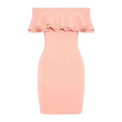 LINE チューブドレス ファッション  レディースファッション  ドレス、ブライダル  パーティドレス ライトピンク
