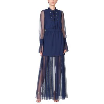 TRESOPHIE ロングワンピース&ドレス ダークパープル 42 ポリエステル 100% ロングワンピース&ドレス