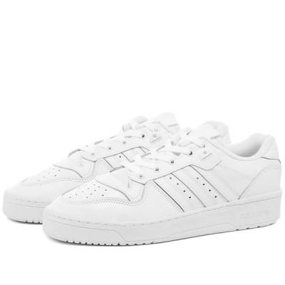 アディダス Adidas レディース スニーカー シューズ・靴 Rivalry Low W White/Black