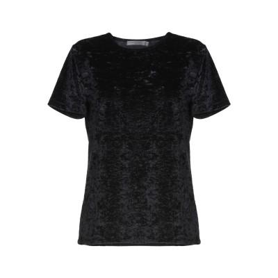 VINCE. T シャツ ブラック XS 85% ナイロン 15% ポリウレタン T シャツ