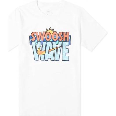 ナイキ Nike メンズ Tシャツ トップス wave tee White