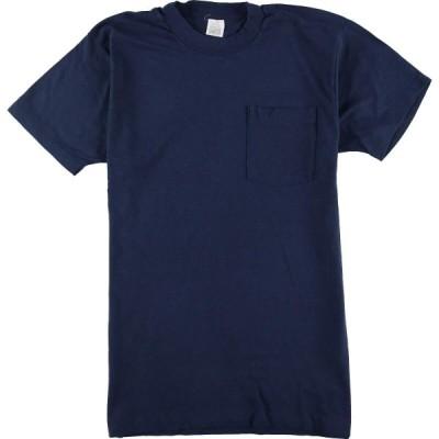 90年代 ポケットTシャツ レディースL /eaa055446