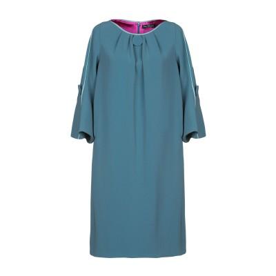 IVAN MONTESI ミニワンピース&ドレス ブルーグレー 40 トリアセテート 69% / ポリエステル 31% ミニワンピース&ドレス