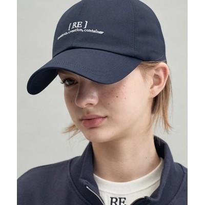 KONVINI / 【replaycontainer 】RE ブレイスロゴキャップ / RE braces logo cap WOMEN 帽子 > キャップ