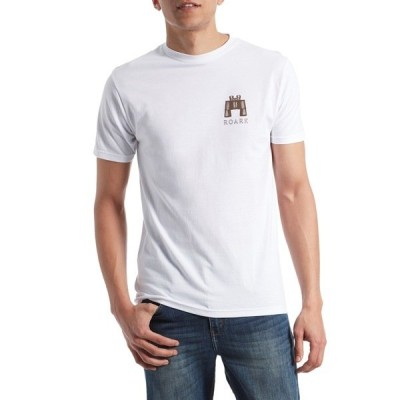 ローク メンズ Tシャツ トップス Roark Survival Kit T-Shirt White