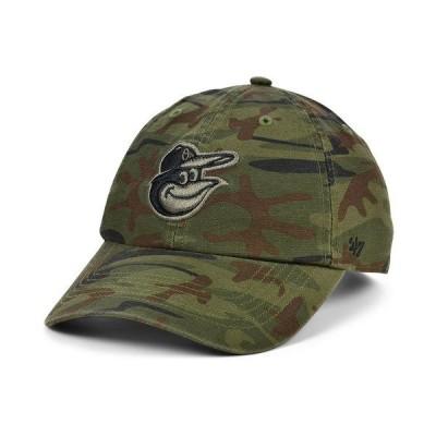 47ブランド 帽子 アクセサリー メンズ Baltimore Orioles Regiment CLEAN UP Cap Gray