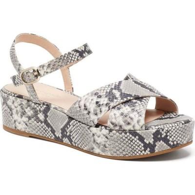 ケイト スペード kate spade new york レディース サンダル・ミュール ウェッジソール シューズ・靴 bunton wedge sandals Gray