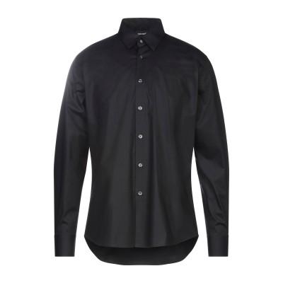 ジャストカヴァリ JUST CAVALLI シャツ ブラック 40 コットン 96% / ポリウレタン 4% シャツ