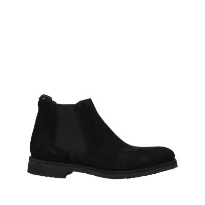 GARMENT PROJECT ショートブーツ ブラック 40 革 / 伸縮繊維 ショートブーツ