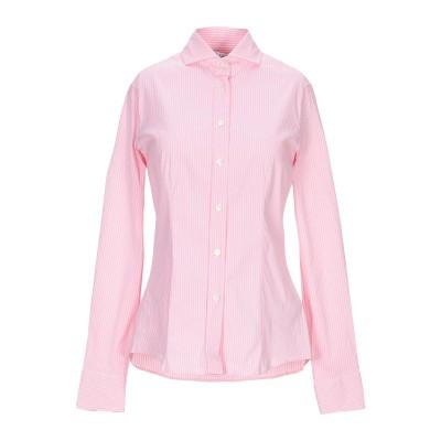 カリバン CALIBAN シャツ ピンク 42 コットン 70% / ナイロン 27% / ポリウレタン 3% シャツ
