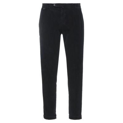 BRIGLIA 1949 パンツ ブラック 33 コットン 98% / ポリウレタン 2% パンツ