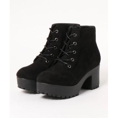 Parade ワシントン靴店 / 【厚底】レースアップショートブーツ 4208 WOMEN シューズ > ブーツ