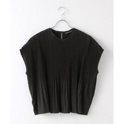 MARcourt/マーコート pleats wide P/O black FREE