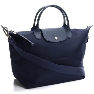 ロンシャン LONGCHAMP ル プリアージュ ネオ ハンドバッグM 1515 598 006 ネイビー系 ナイロン レディース ladies bag ブランド brand バック 新品