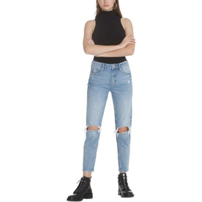 ヴィゴス Vigoss Jeans レディース ジーンズ・デニム ボーイフレンドデニム ボトムス・パンツ Distressed Ankle Boyfriend Jeans Lt Wash