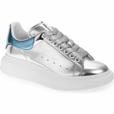 アレキサンダー マックイーン ALEXANDER MCQUEEN メンズ スニーカー シューズ・靴 Oversize Sneaker Blue Silver