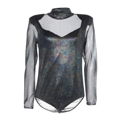 ジジル JIJIL T シャツ ブラック 38 ポリエステル 92% / 指定外繊維(その他伸縮性繊維) 8% / コットン T シャツ