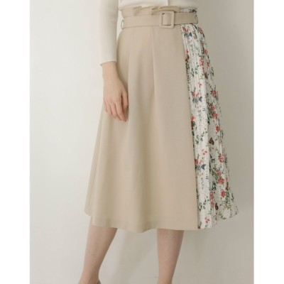 TONAL / フラワーバタフライギャザープリーツスカート WOMEN スカート > スカート