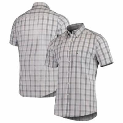 Antigua アンティグア シャツ ポロシャツ Antigua New Orleans Saints Black Woven Button-Down Shirt