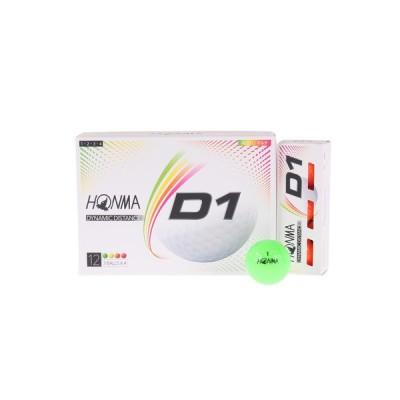 本間ゴルフ(HONMA) D1ボール 1ダース(12個) BT2001L MC (メンズ)