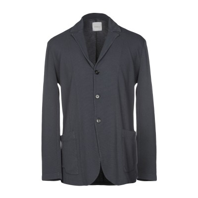 BELLWOOD テーラードジャケット ブルーグレー 50 100% コットン テーラードジャケット