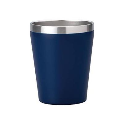 小倉陶器 真空断熱 ステンレスタンブラー 360ml 保温 保冷 二重構造 コンビニコーヒーカップ マグ (マットブルー) 約φ8.5×h1