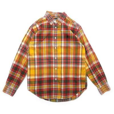 ポロラルフローレン ワンポイント ロゴ チェックシャツ サイズ表記:ボーイズL