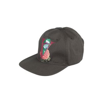 VALENTINO GARAVANI 帽子 ミリタリーグリーン 57 コットン 100% 帽子
