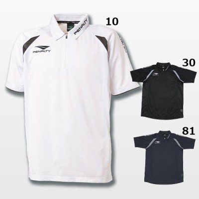 (51%OFF)PENALTY/ペナルティ ジップポロシャツ (PT5195)