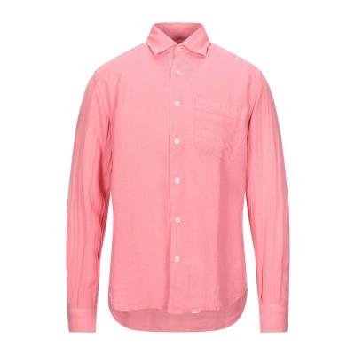 HARDY CROBB'S シャツ ピンク S リネン 100% シャツ