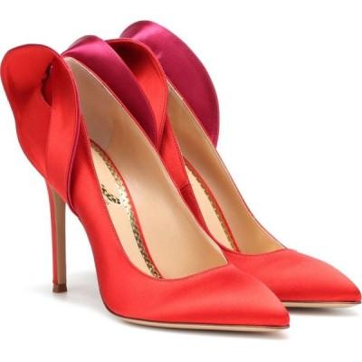 シャーロット オリンピア Charlotte Olympia レディース パンプス シューズ・靴 satin pumps flaming red