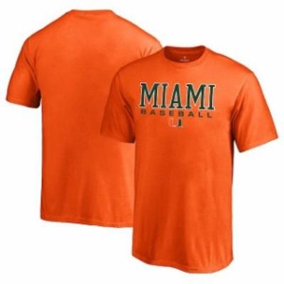 Fanatics Branded ファナティクス ブランド スポーツ用品  Fanatics Branded Miami Hurricanes Youth Orange True Spor