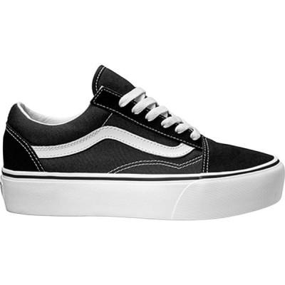 ヴァンズ Vans レディース シューズ・靴 Old Skool Platform Shoes Black/White